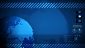Global world background loop Stock Photos