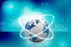 globala anslutningar Arkivbild