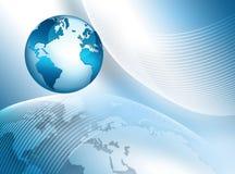 globala internet för bäst affärsidé jordklot royaltyfri illustrationer