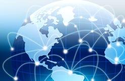 globala internet för bäst begrepp för affär conc royaltyfri illustrationer
