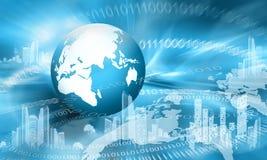 globala internet för bäst begrepp för affär conc Arkivfoton