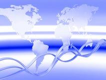 globala kommunikationer Royaltyfria Foton