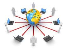 globala kommunikationer Arkivfoton