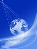 globala kommunikationer Fotografering för Bildbyråer