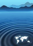 globala krusningar Arkivfoto