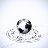 Globala teknologianslutningar Arkivfoto