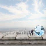 Globala teknologier Arkivbild