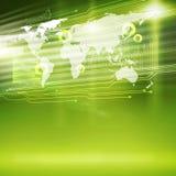 Globala teknologier arkivbilder