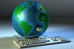 Globale aansluting Royalty-vrije Stock Afbeelding