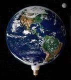 Globale Aarde Stock Afbeelding