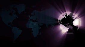 Globale Achtergrond royalty-vrije illustratie