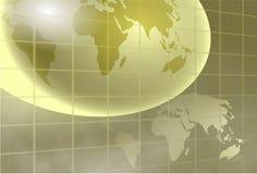 Globale achtergrond Royalty-vrije Stock Foto's