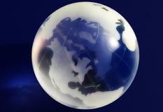 Globale Ansicht Lizenzfreie Stockfotos