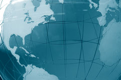 Globale Ansicht Stockfotografie