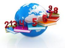 Globale Ausbildung und Zahlen Stockfoto