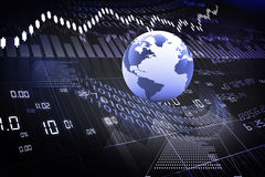Globale Börse Lizenzfreies Stockbild