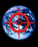 Globale bedreiging Royalty-vrije Stock Afbeeldingen