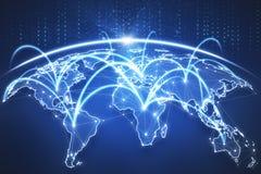Globale bedrijfsachtergrond Stock Foto
