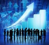 Globale commerciële vergadering Royalty-vrije Stock Afbeeldingen