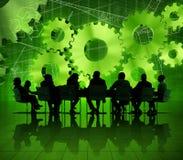 Globale Commerciële Vergadering over Economisch Herstel royalty-vrije stock foto