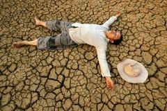 Globale crisisbarst stock fotografie