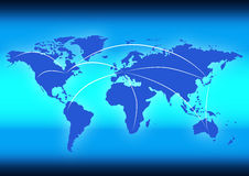 Globale Daten Vektor Abbildung