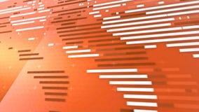 Globale die verbindingsachtergrond voor het openen wordt ontworpen stock footage