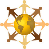 Globale Diversiteit/eps Royalty-vrije Stock Afbeelding
