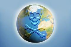 Globale dood royalty-vrije illustratie