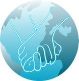 Globale eenheid Royalty-vrije Stock Afbeelding