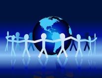 Globale Einheit Lizenzfreie Stockfotos