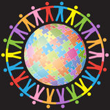 Globale Einheit Lizenzfreies Stockbild