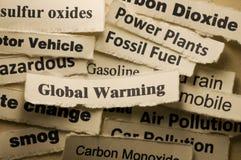 Globale Erwärmung Lizenzfreie Stockbilder