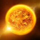 Globale Erwärmung auf Planet Erde Lizenzfreies Stockbild