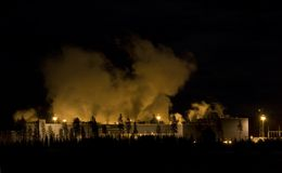 Globale Erwärmung-Verunreinigung Lizenzfreie Stockbilder