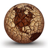 Globale Erwärmung Stockbild