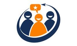 Globale Führungs-Teamwork-Lösungen Stockfotografie