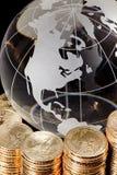 Globale Finanzierung Stockbild
