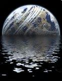 Globale Fluten Stockbild