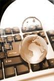 Globale gegevensverwerking stock afbeelding