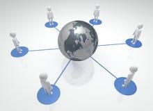 Globale Gemeenschap vector illustratie