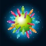 Globale Gemeinschaft Lizenzfreie Stockfotos