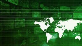 Globale Geschäftsstrategie stock footage