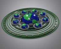 Globale grüne Energie Lizenzfreies Stockfoto