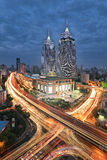 Globale Haven, Shanghai Royalty-vrije Stock Foto's