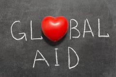 Globale Hilfe Stockbild