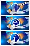 Globale Informationen Lizenzfreies Stockfoto
