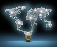 Globale Innovatie Stock Afbeelding