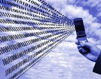 Globale interactie Stock Afbeelding