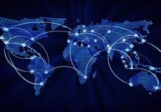 Globale interactie Stock Foto's